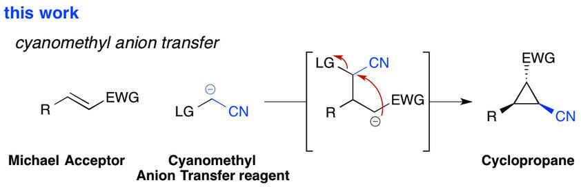 Cyanomethyl Anion Transfer